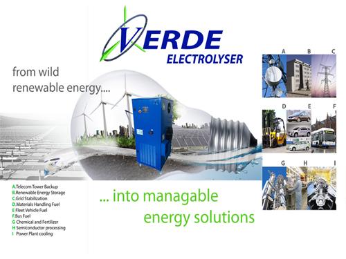 Verde Renewables Press Release- Industry